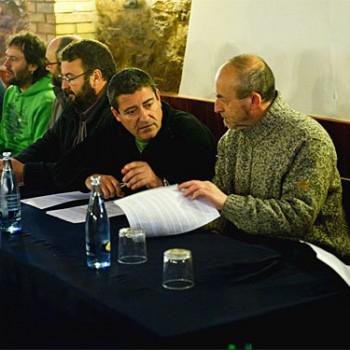 La Red de Elect@s contra el TAV de Navarra llama a acudir mañana a la manifestación ruidosa en Iruñea