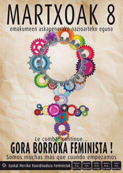 MARTXOAK 8 GORA BORROKA FEMINISTA!