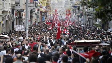 Testimonio de la revuelta popular masiva