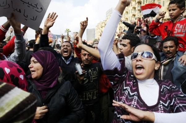 Solidaridad con las mujeres egipcias