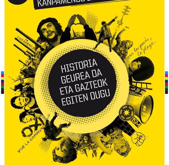 Gazte Iraultzaileen Kanpamentuen 33. edizioa dator/Llega la 33ª edición de los Campamentos de Jóvenes Revolucionarias