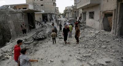 ¡Solidaridad con la abandonada población de Idlib!
