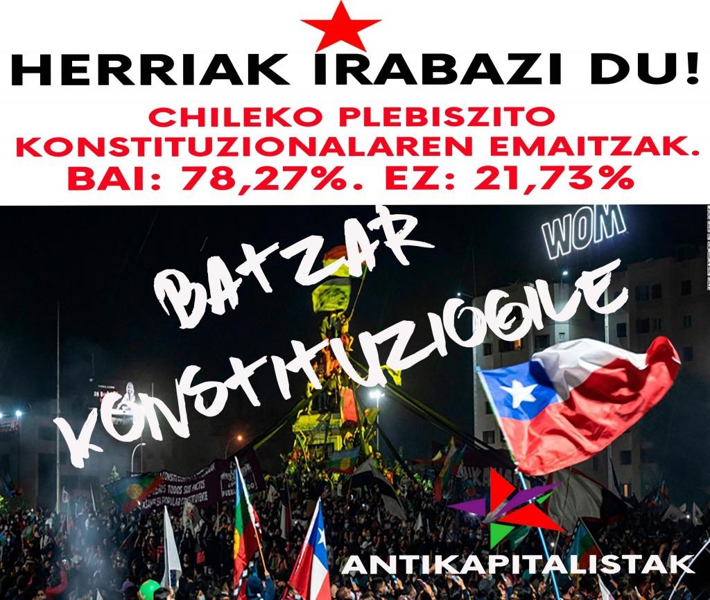 Chile despertó: revuelta y nueva constitución