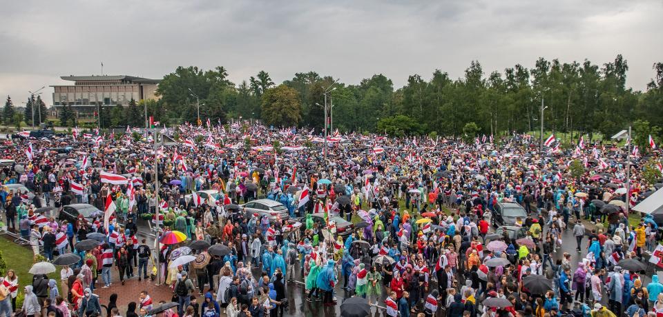¡Apoyo total a las movilizaciones contra la autocracia de Lukashenko!