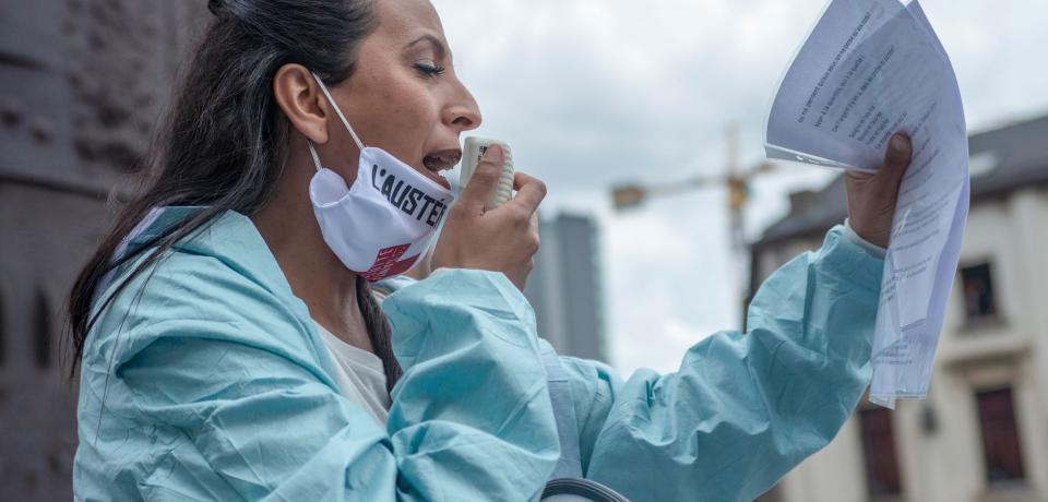 Una convergencia de crisis dominada por la pandemia de covid-19