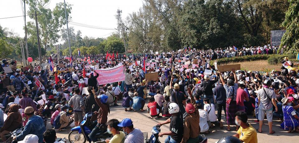 SOLIDARIDAD CON MYANMAR/BIRMANIA